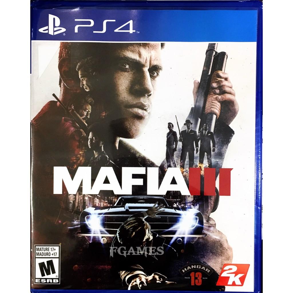 PS4 Mafia 3 (AllZone)(English) แผ่นเกมส์ ของแท้ มือ1 ของใหม่