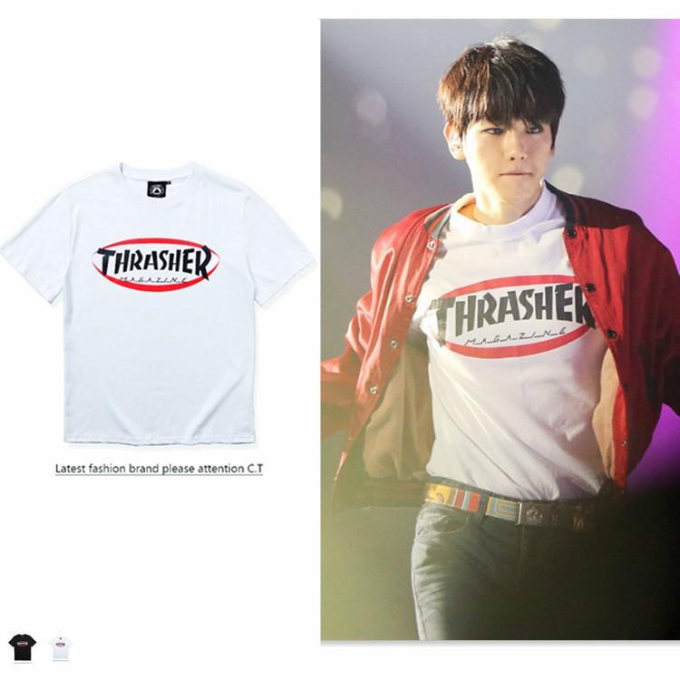 917715b53314 ProductImage. ProductImage. C*M Thrasher Short sleeve T shirt Flame ...