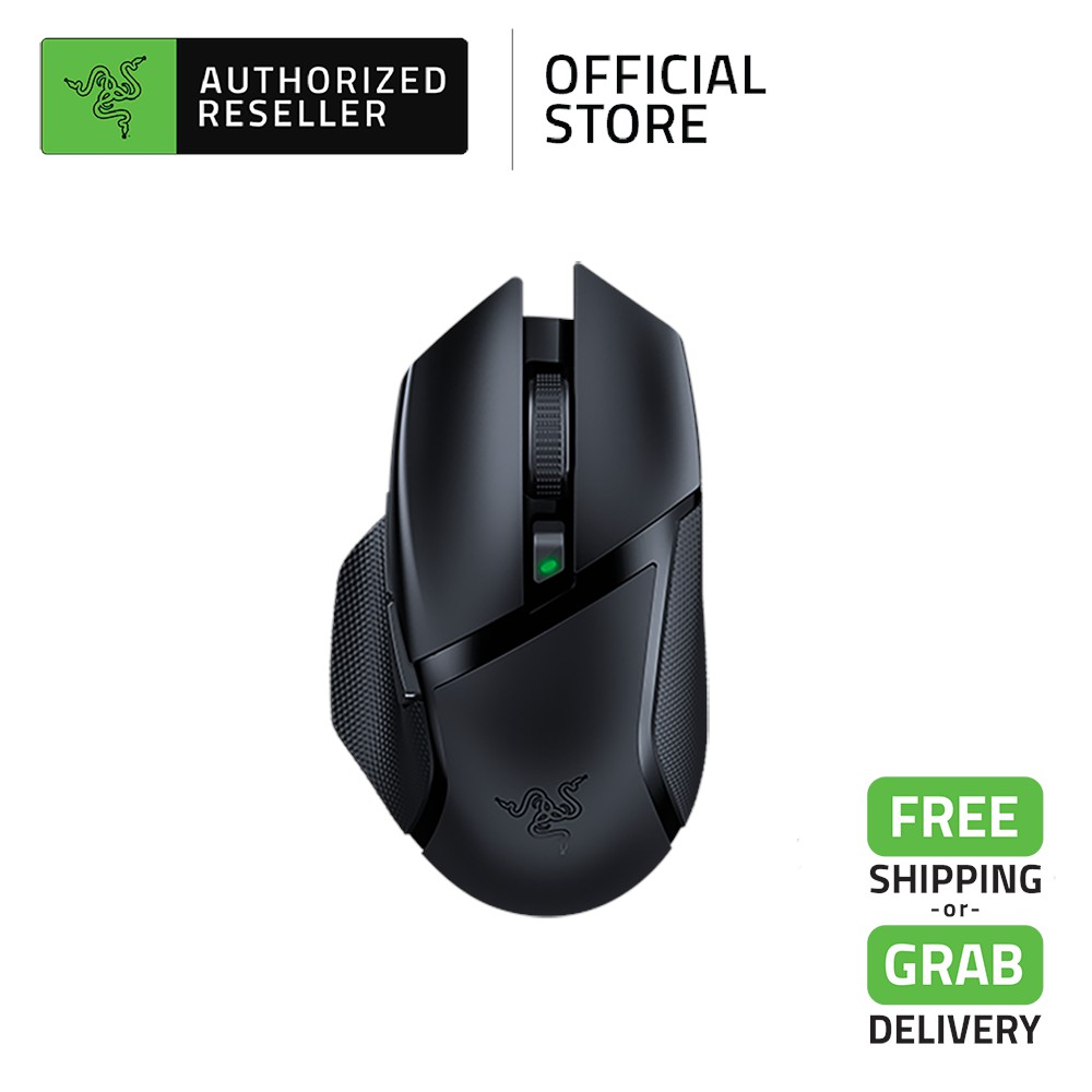 Razer Basilisk X Hyperspeed - Dual-Mode Wireless Gaming Mouse with Razer HyperSpeed Technology