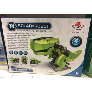 qibook-Educational Solar Power DIY Robot Kit- Available In 3 Designs