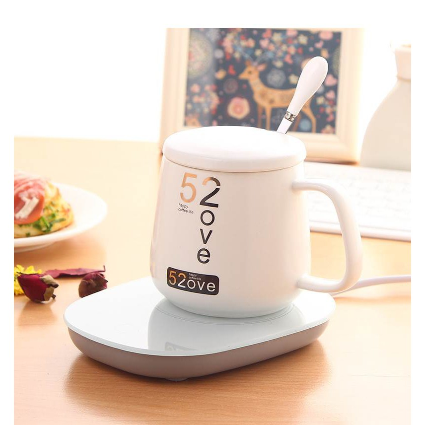 Coffee Mug Warmer, Electric Smart Beverage Cup Warmer, Coaster Cup Mat Warm  Electric Pad for Tea, Water, Cocoa, Milk-Cup Heater Plate with Two  Temperature Settings Auto Off | Shopee Malaysia