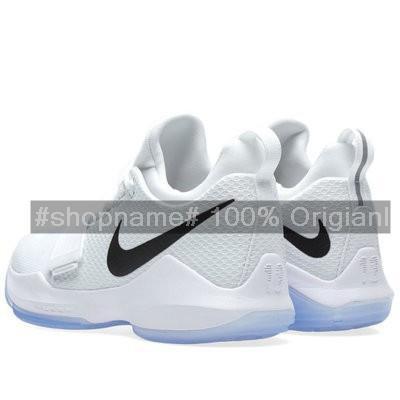 info for 95de2 17720 SHIPPING💕🔥Nike PG 1 Paul George White black Beethoven Men's basketball  shoes