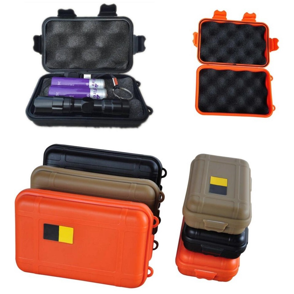 EDC gear waterproof box kayak Storage outdoor camp fish Trunk Airtight container