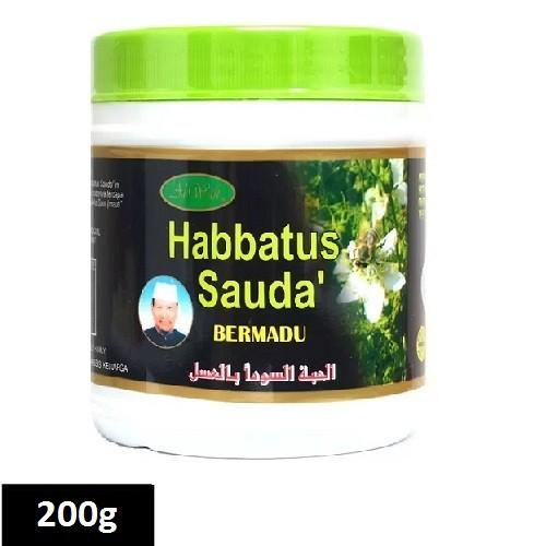 Al Wafi Habbatus Sauda Bermadu 200g