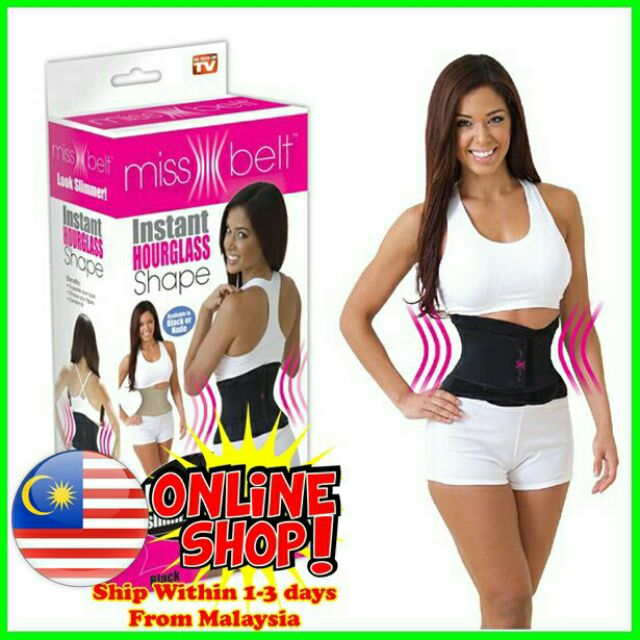 b5a39932c77 💥HOT💥MISS BELT - WAIST TRAINER BELT CREAM AND BLACK COLOR