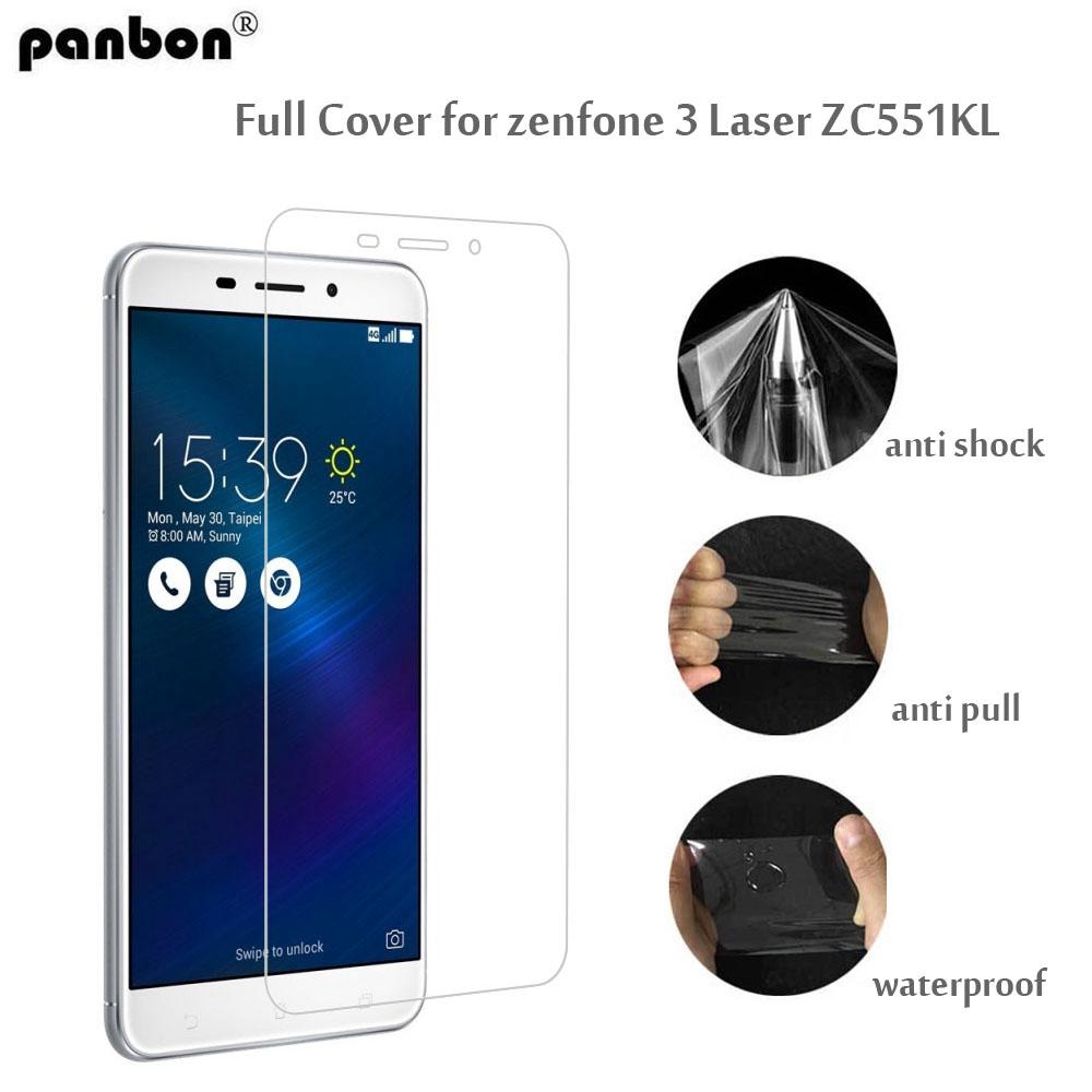 pick up 75fdf bfbde Asus Zenfone 3 Laser ZC551KL Hydrogel Film Soft TPU Screen Protector Full  Cover