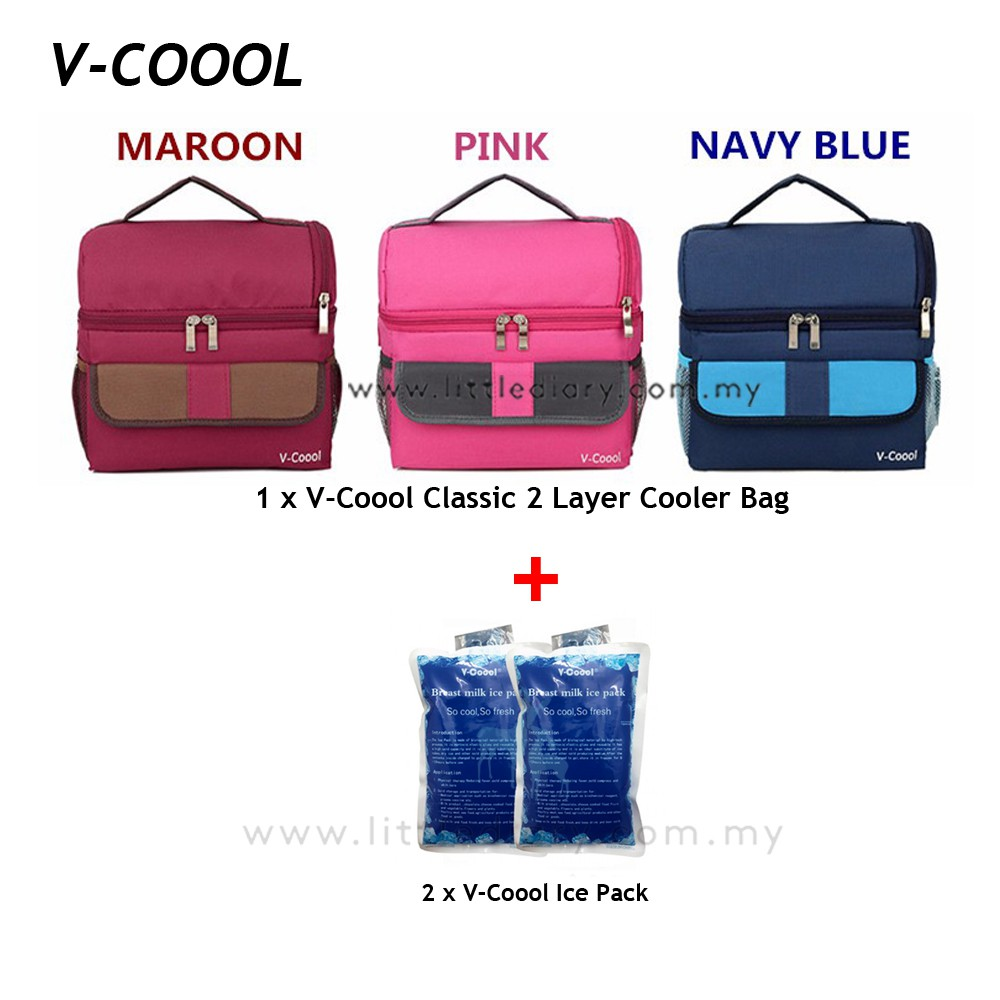 New V Coool 2 Layer Cooler Bag Shopee Malaysia