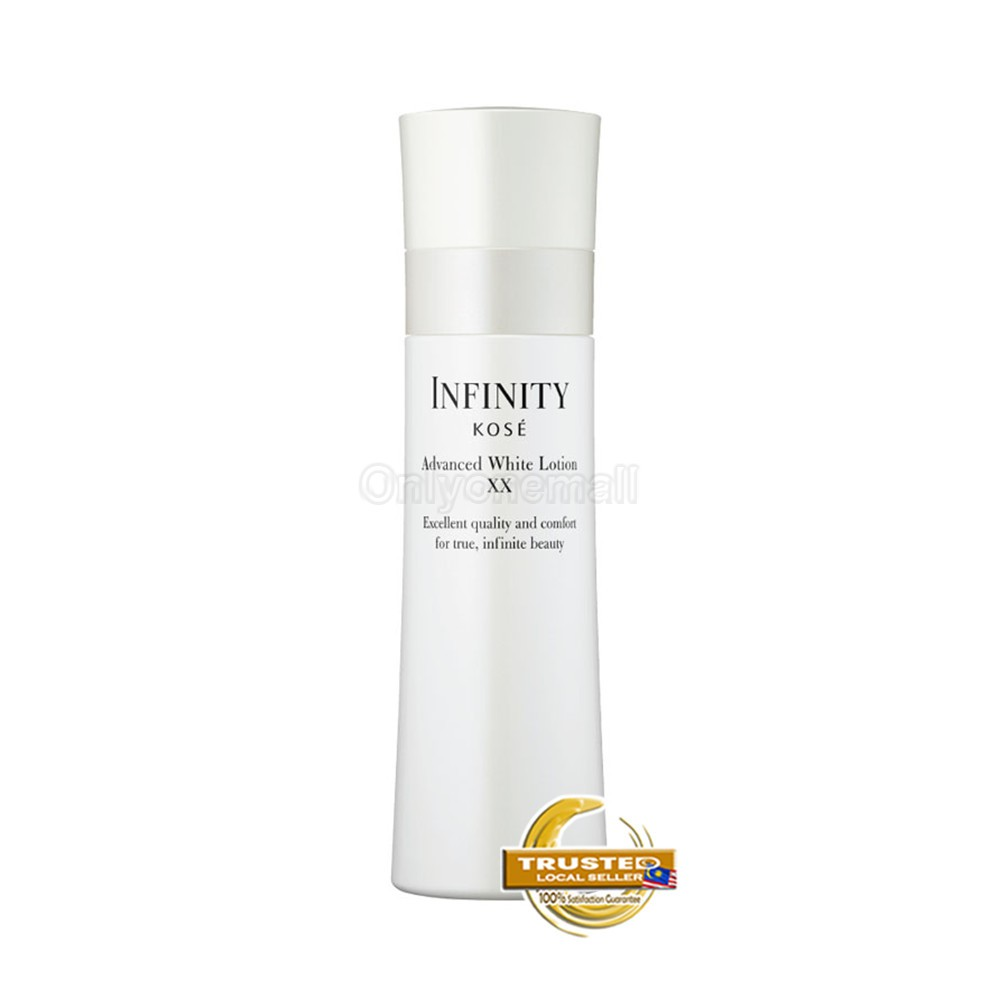 KOSE Infinity Advanced White Lotion XX 160ml with Free Gift