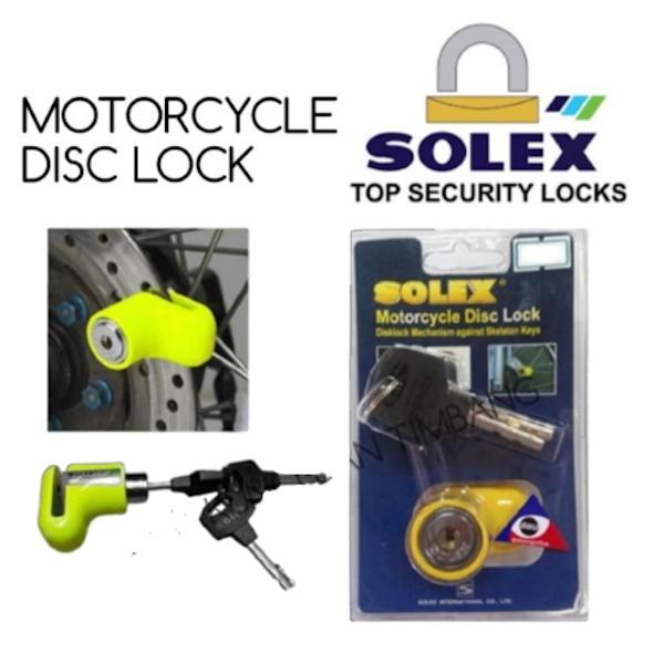 Solex Motorcycle Disc Lock 9025