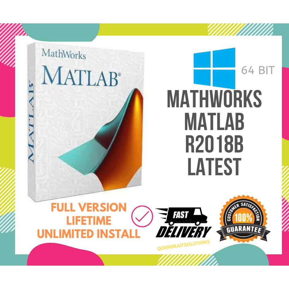 🔥HOT🔥 MathWorks MATLAB R2018b Full Version Lifetime