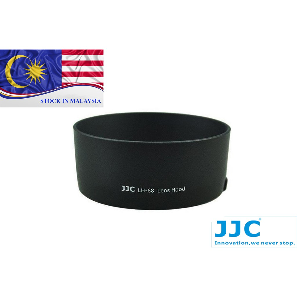 JJC LH-68 Lens Hood Shade For CANON EF 50mm f/1.8 STM (Ready Stock In Malaysia)