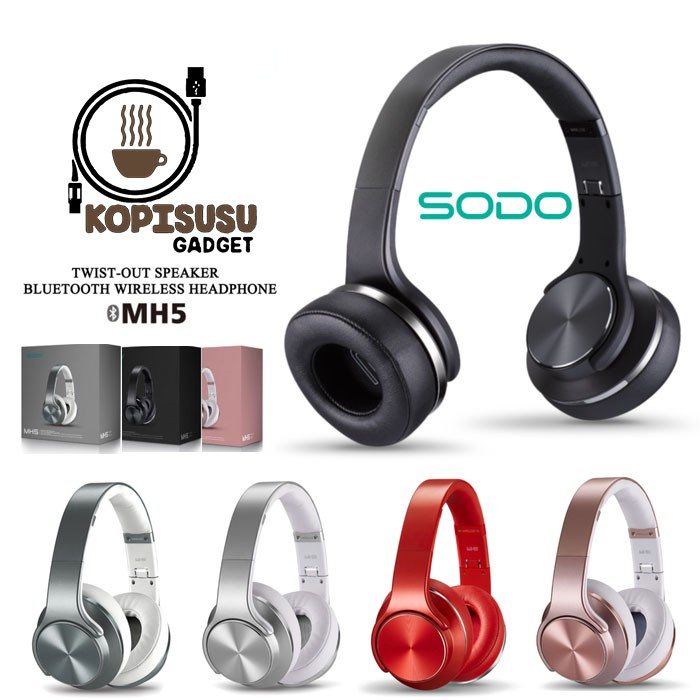 6cf024e6e8a Sodo Mh1 2 in 1 Bluetooth Headphone/Speaker | Shopee Malaysia