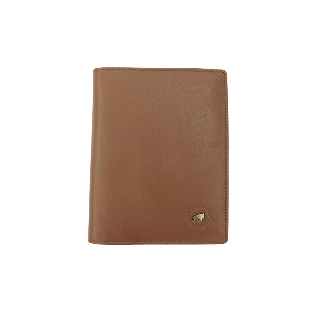 RAV DESIGN Men's Genuine Leather Anti-RFID Passport Holder |RVW667G1 (B)