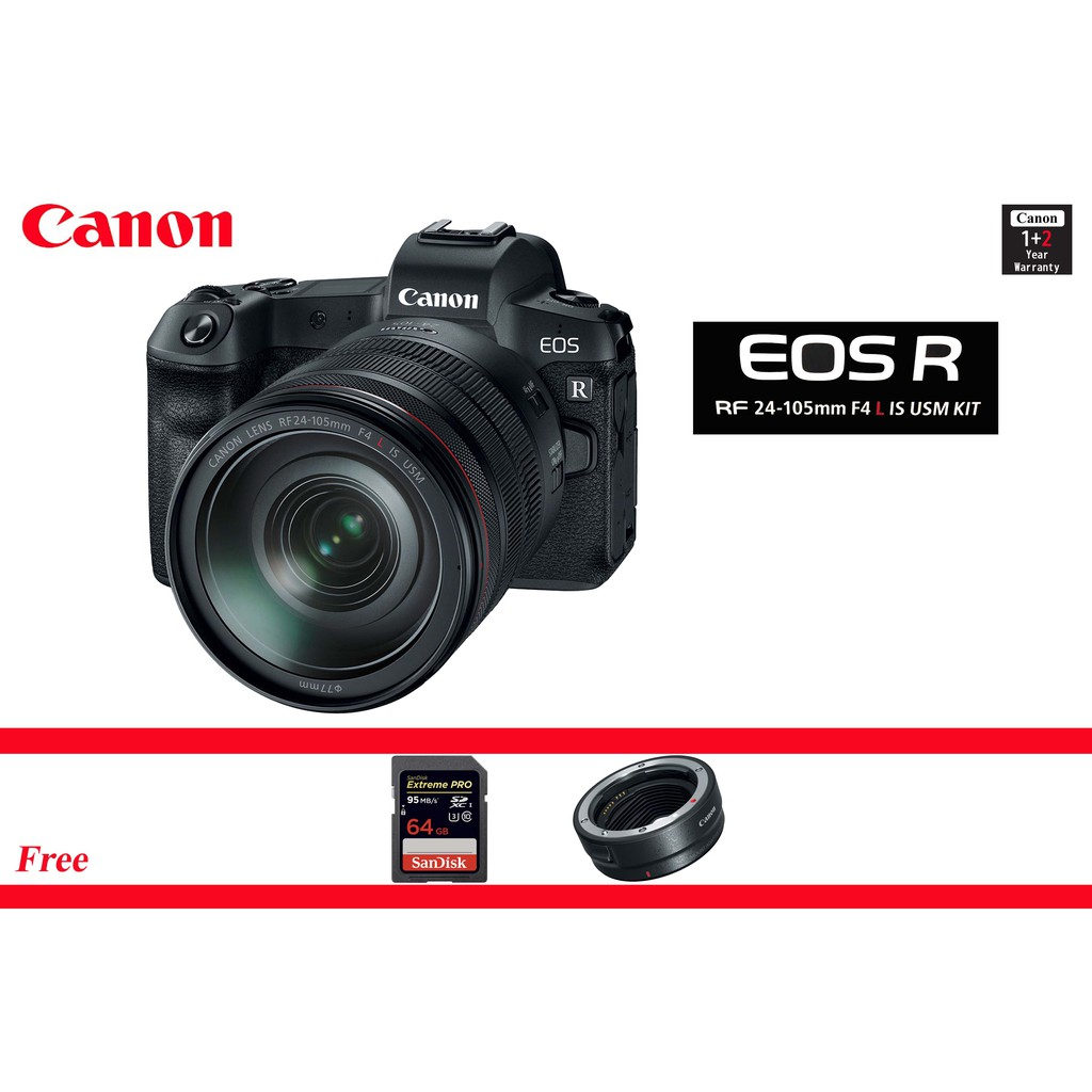 Canon Eos 6d Mark Ii Shopee Malaysia Kit 24 105mm F 35 56 Is Stm Wifi And Gps