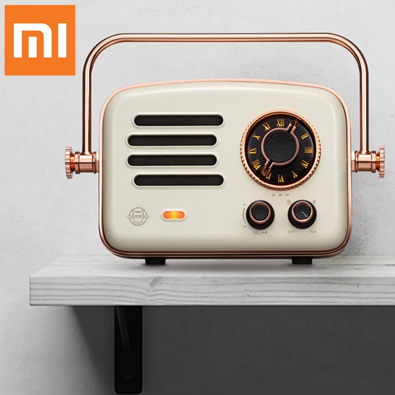 Xiaomi Smart radio Retro Network FM station HIFI charge Bluetooth speakers Radio