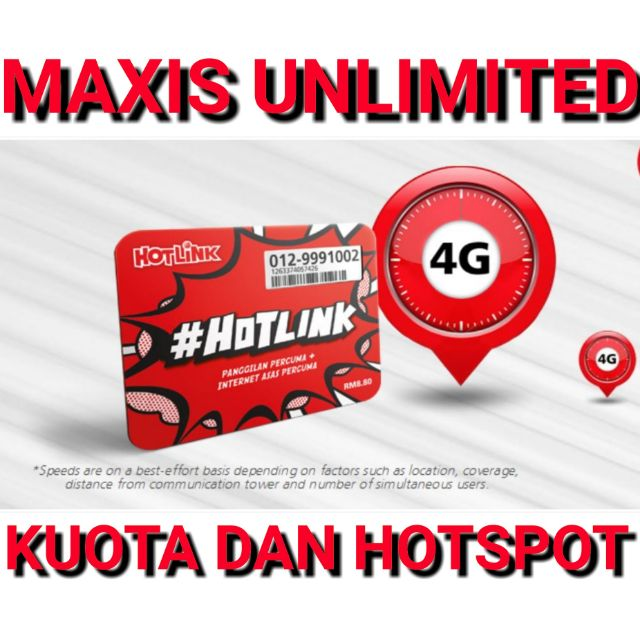 INTERNET UNLIMITED MAXIS/CELCOM/UMOBILE