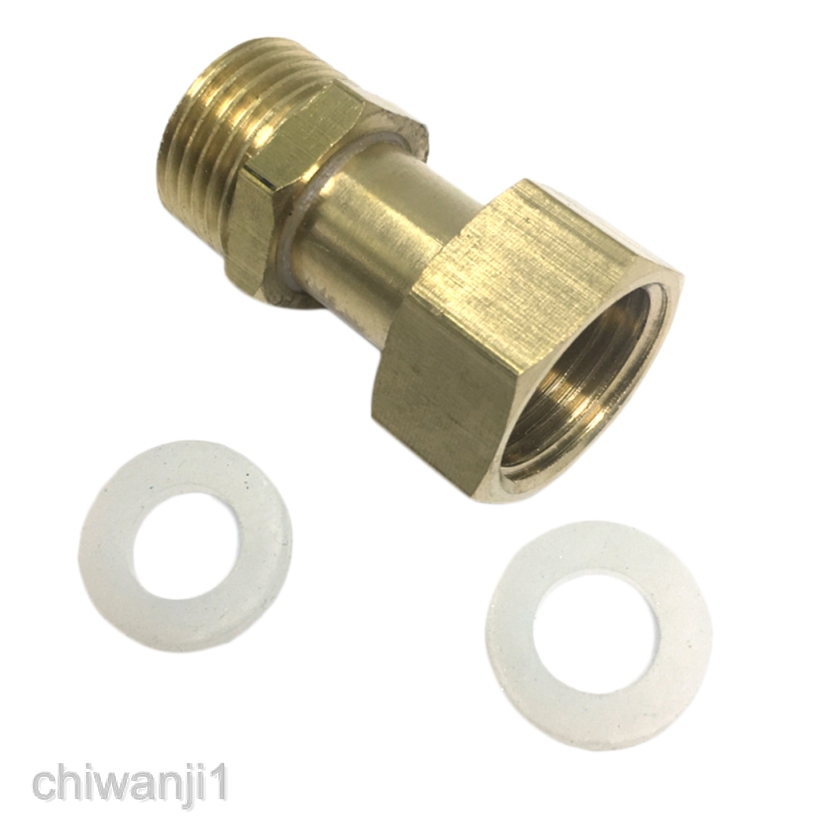 12 mm Wide Brass Hose Nippel Garden Hose Thread Barb Hose Fitting 1//2 Female Brass Half inch for Repair