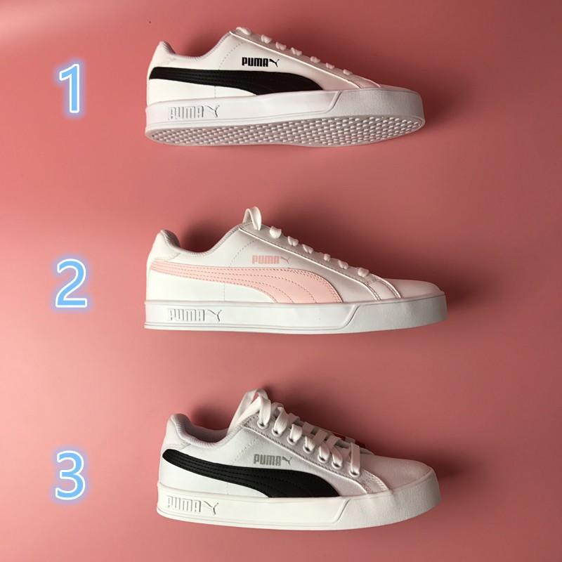 5a2befb7b9 3 colors new arriving Puma SMASHVULC men women shoes skateboard sneakers