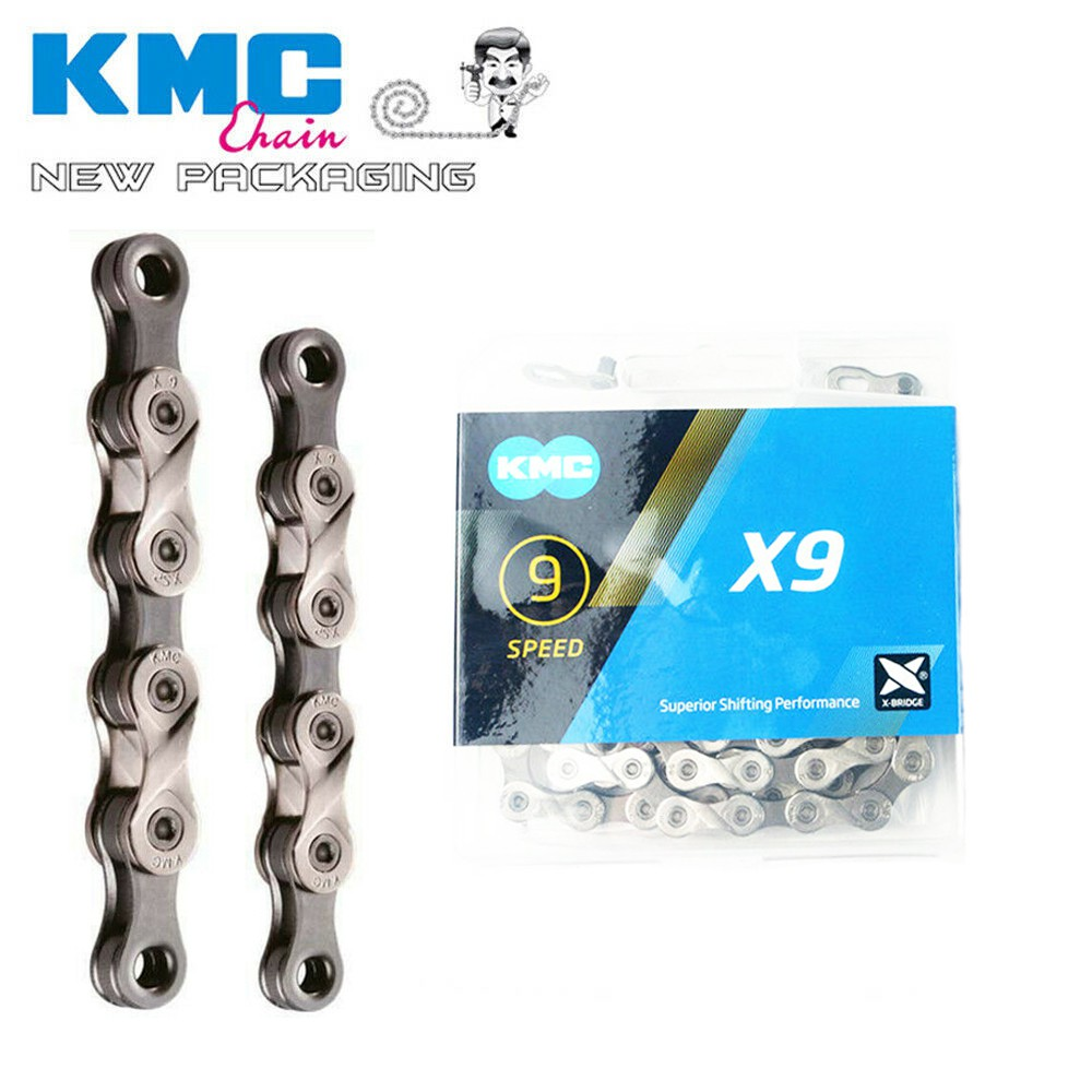 Shimano SRAM Campagnolo MissingLink SILVER NEW KMC X9 X9.93 9 Speed Chain