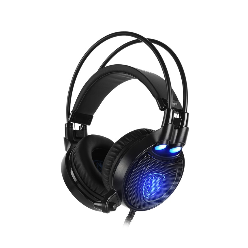 {OCTPLUS-PLS-BLUE} Sades Octopus Plus Gaming Headset - PS4/ PS5,NS,PC (Blue)