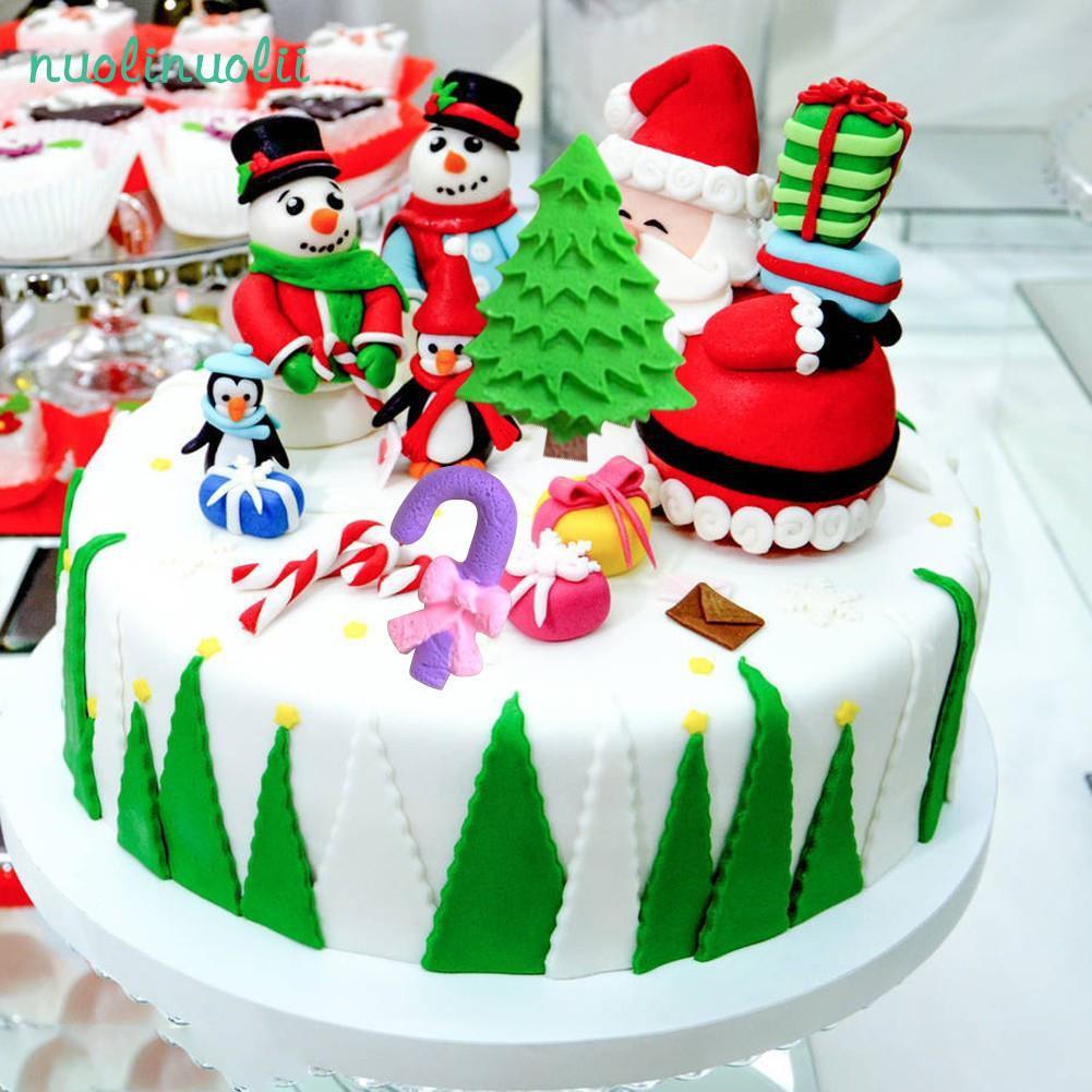 Santa Sugar Silicone Decorative Mold Diy Cake Decoration Tool