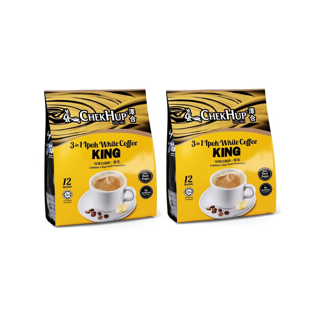Chek Hup 3 in 1 Ipoh White Coffee King (40g x 12s) [Bundle of 2]   Shopee Malaysia