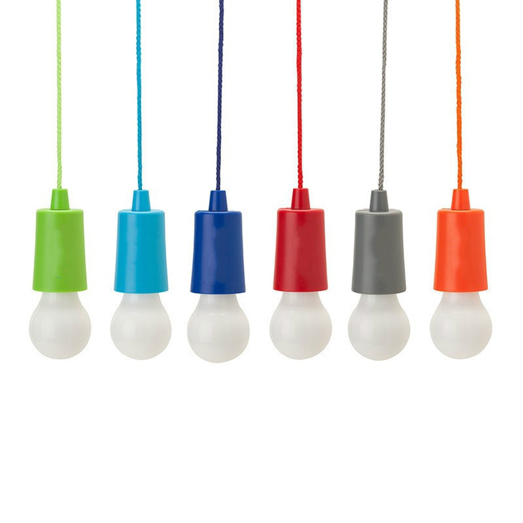 best website 0766a d7b4b Battery Operated Decorative and Portable LED Pull Cord Bulb Light