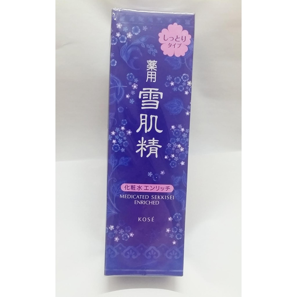 Japan Kose Sekkisei Whitening Medicated Lotion Enriched 200ml Cream Jepang Shopee Malaysia