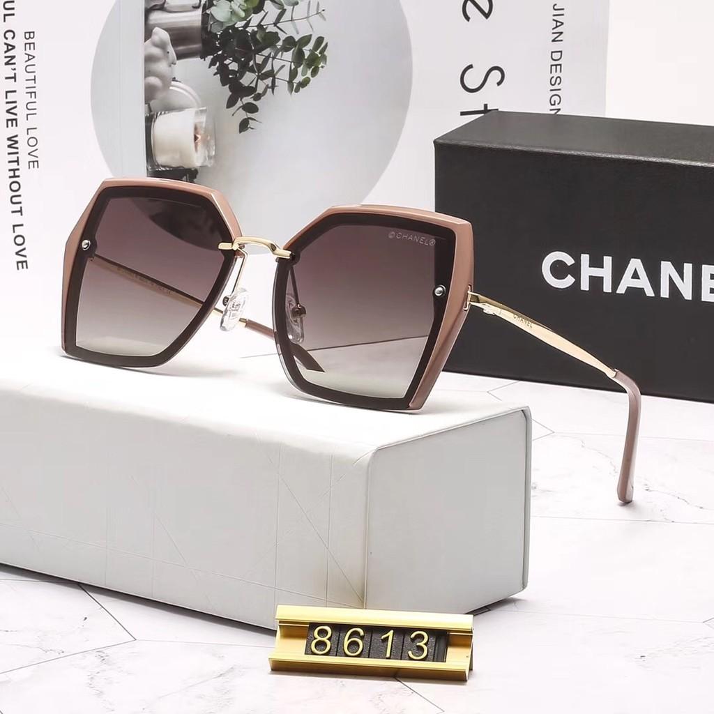 b642c358 CHANEL sunglasses women Polarized lens Butterfly frame 8613