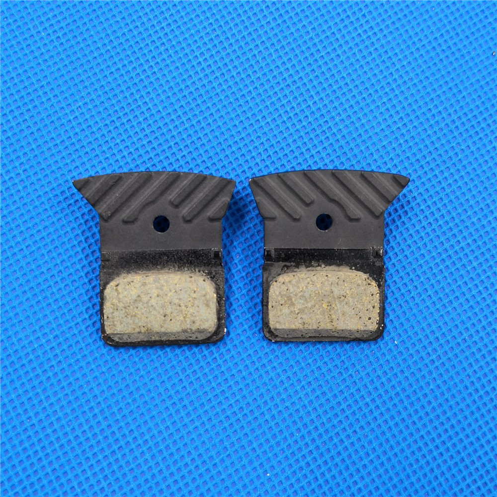 Shimano L02A Resin Disc Brake Pads with Fin for Flat Mount BR R9170//8070,RS805