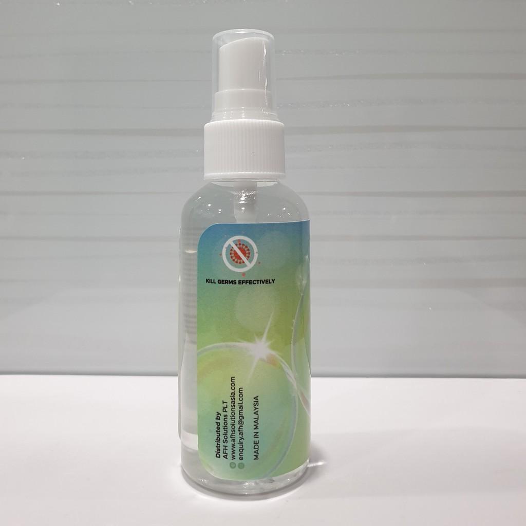 Travel size Sanitizer 60ml Spray 70% Alcohol