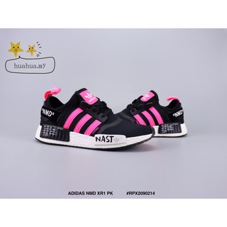 the best attitude 59c50 a1e32 💕Ready Stock💕 ADIDAS NMD XR1 PK running shoes Black pink ...