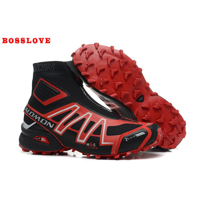 size 40 9ede6 ceb6c Salomon snowcross snow boots high to help running shoes 013