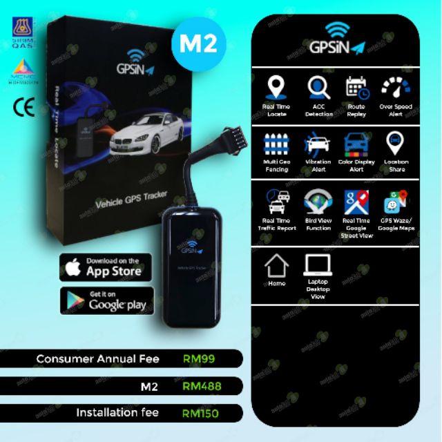 GPSiNA M2 GPS Tracker