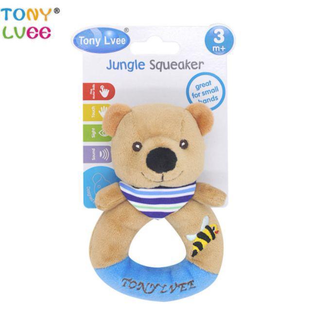 [ READY STOCK ]  Kids Animal Soft Plush Rattle Baby Hand Bells Educational Doll Cute Cartoon Animal Plush Toys Gift