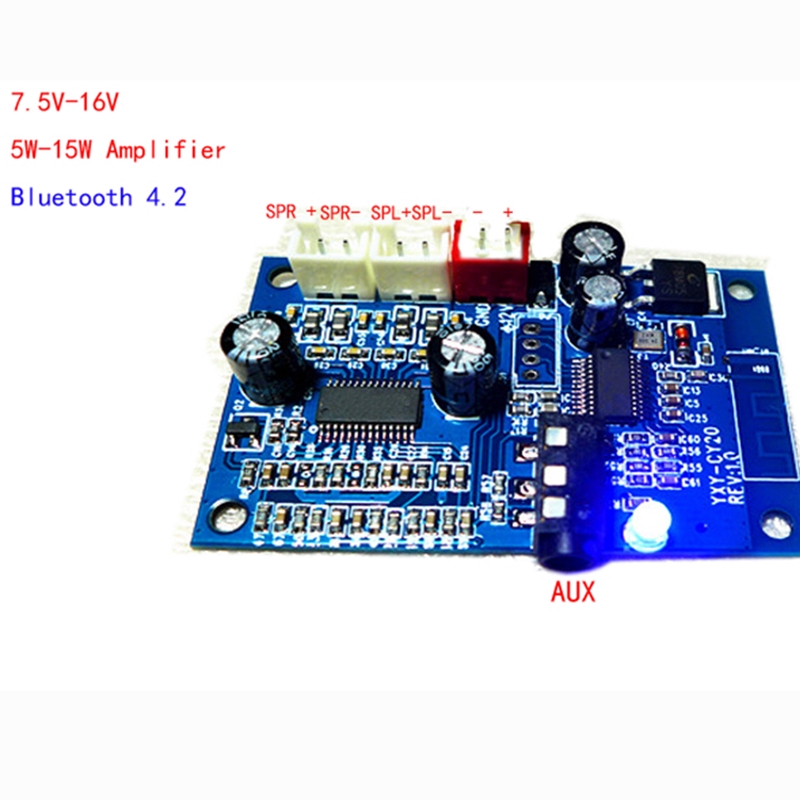 Audio Modification Board Amplifier Input AUX bluetooth 4 2 APP control