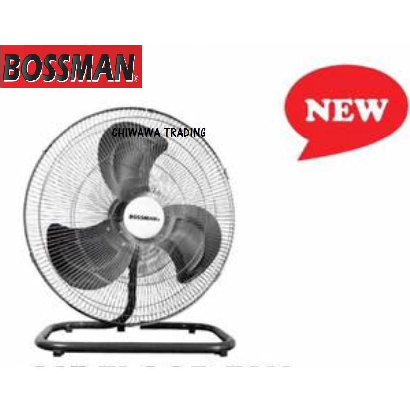 "BOSSMAN BF220 20"" Inch HeavyDuty High Velocity Industrial Floor Fan Kipas Lantai"