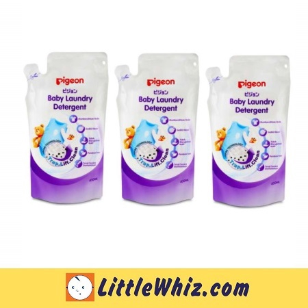 Pigeon: Baby Laundry Detergent 450ml Refill ( 3 PACKS )