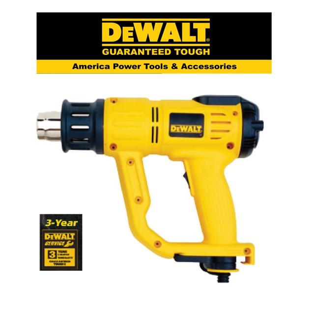 DEWALT D26414 -2000W HEAT GUN WITH LCD + 50MM  FLAT NOZZLE