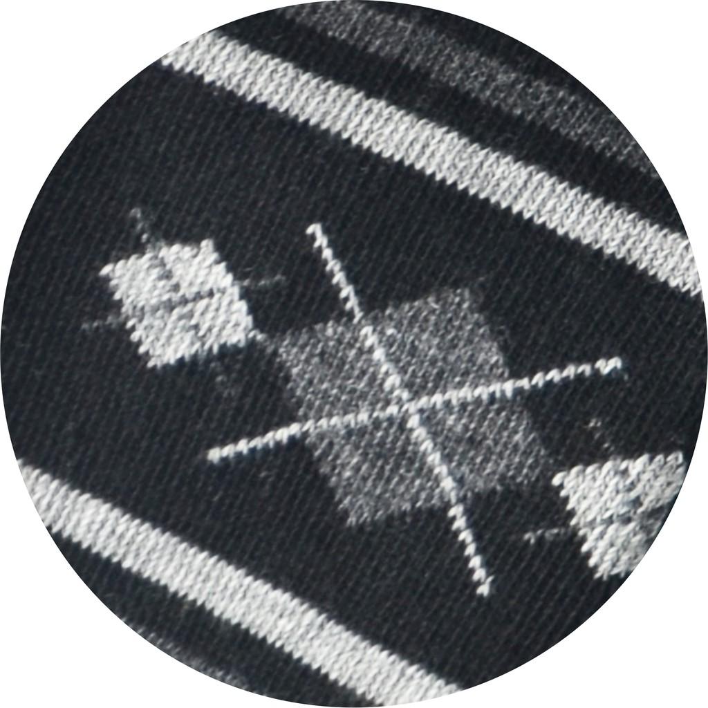 Semlouis Men Quarter Crew Socks - Line & Argyle