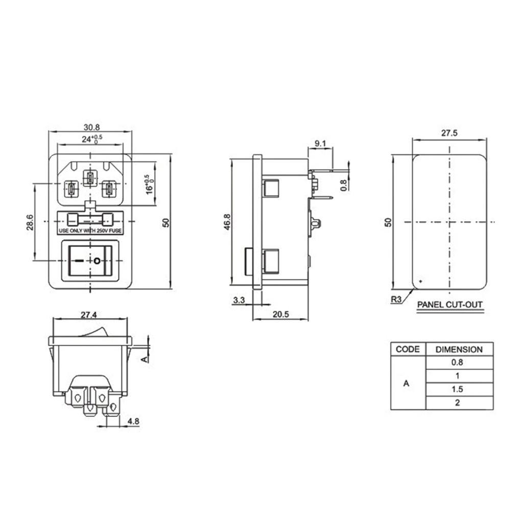 5.5//16 Ohm 9x5MM Air Conditionné intégré passif côté Sound Buzzer haute température