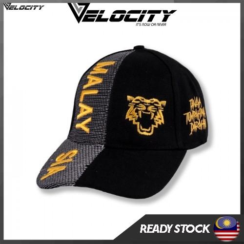 [READY STOCK] Velocity Velocool Malaysia Cap Yellow