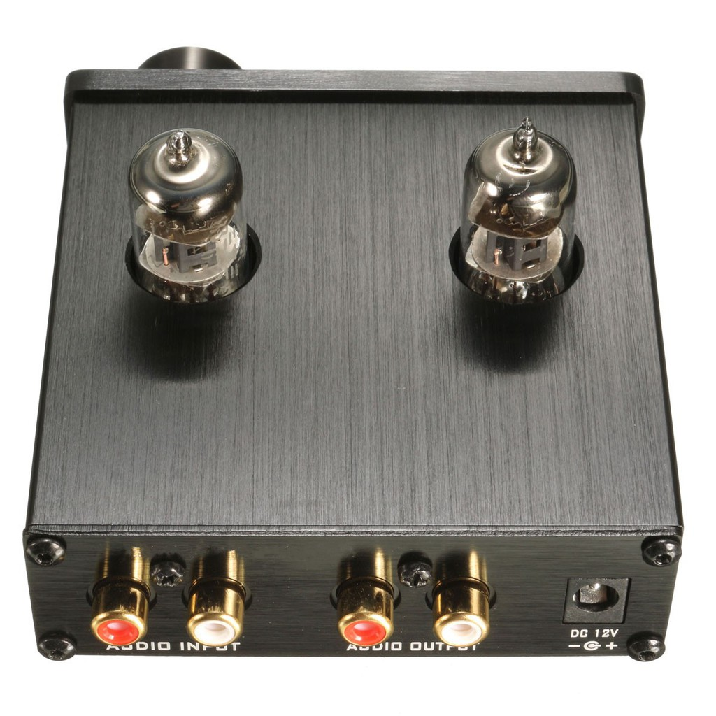 DC12V 6J1 Vacuum Tube Integrated Amplifier Mini Audio Hi-Fi Stereo Buffer Preamp