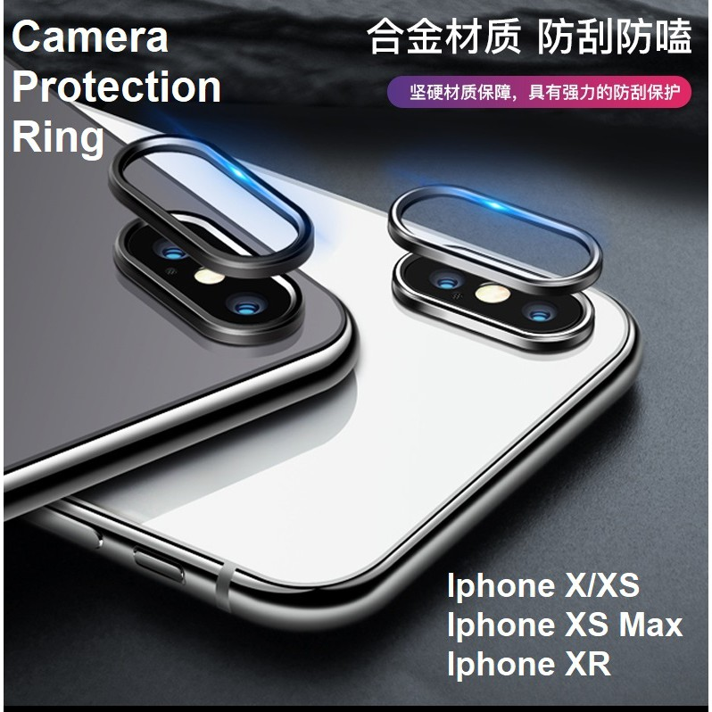 on sale d5192 5d20f Apple Iphone X XS MAX XR 7 8 Plus Back Camera Protector Protection Ring
