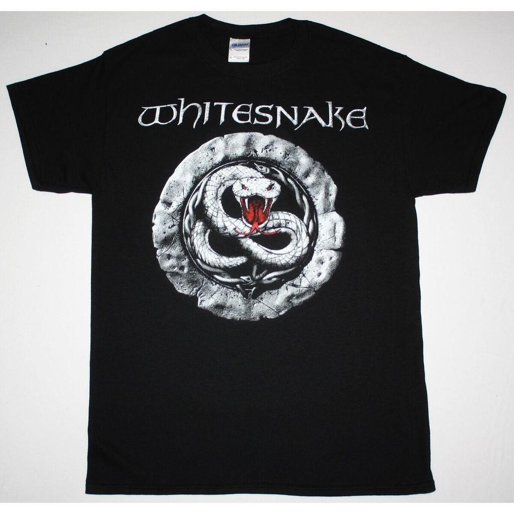 WHITESNAKE PURPLE TOUR Black New T-shirt Rock T-shirt Rock Band Shirt