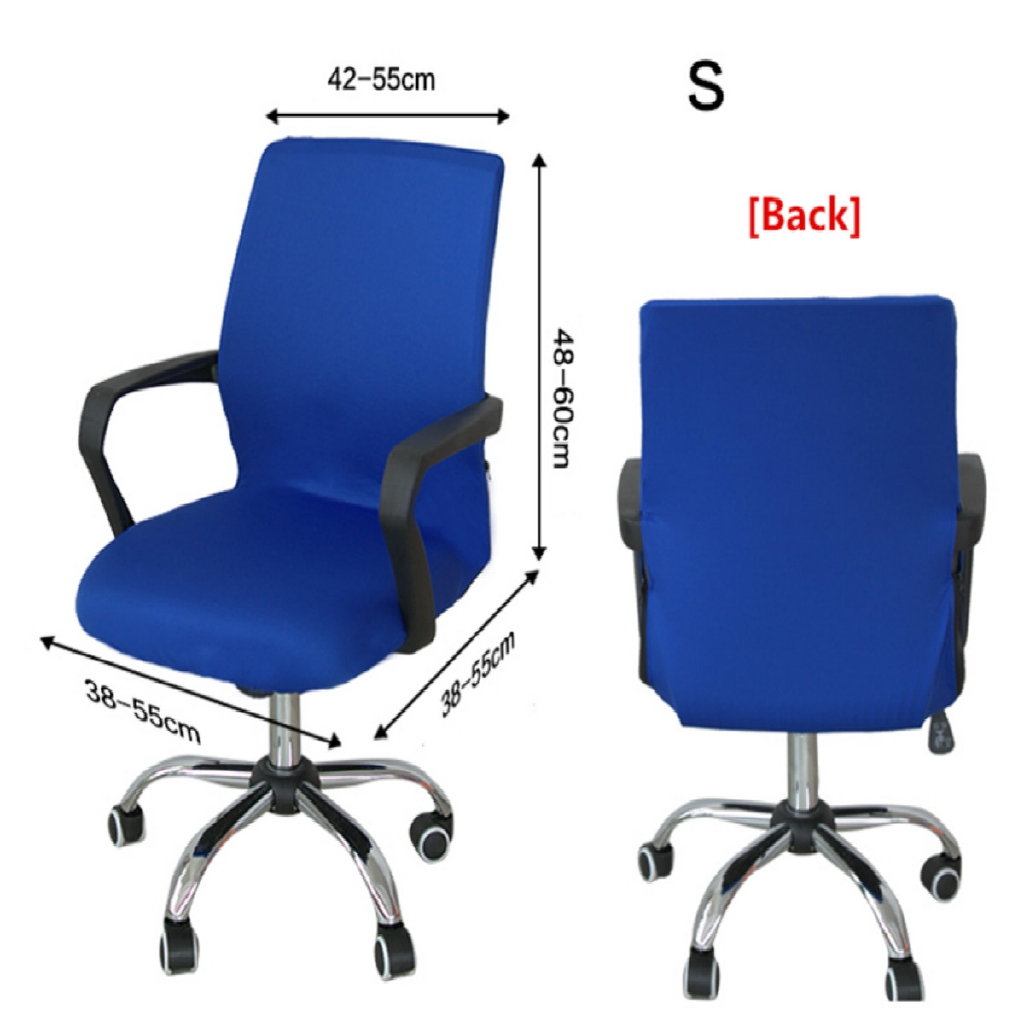 Chair Cover Office Computer Spandex Stretch Swivel Rotating Seat Protector Decor