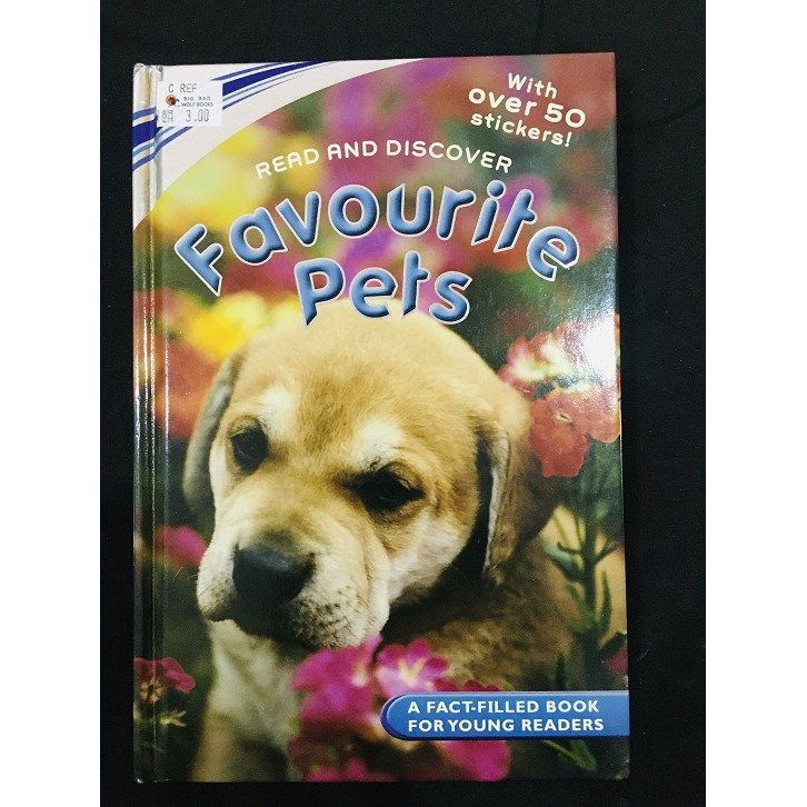 USED English Story Book - Read and Discover Favourite Pets