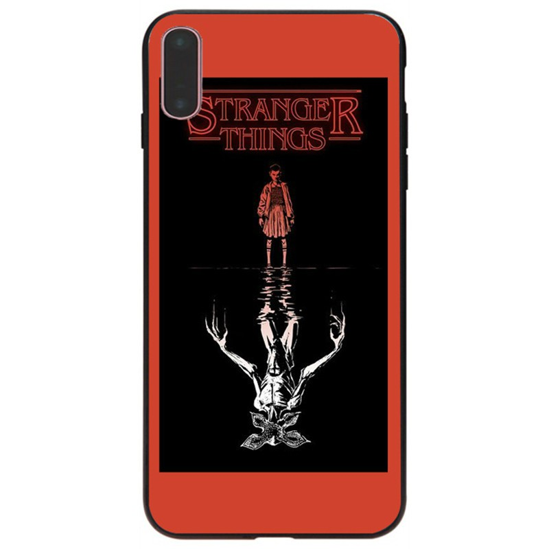 Stranger Things Wallpaper Phone Case For Iphone 7 8 Plus 10 X