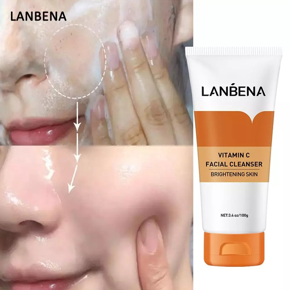 LANBENA Facial Cleanser Face wash Vitamin C Collagen Whitening | Shopee  Malaysia