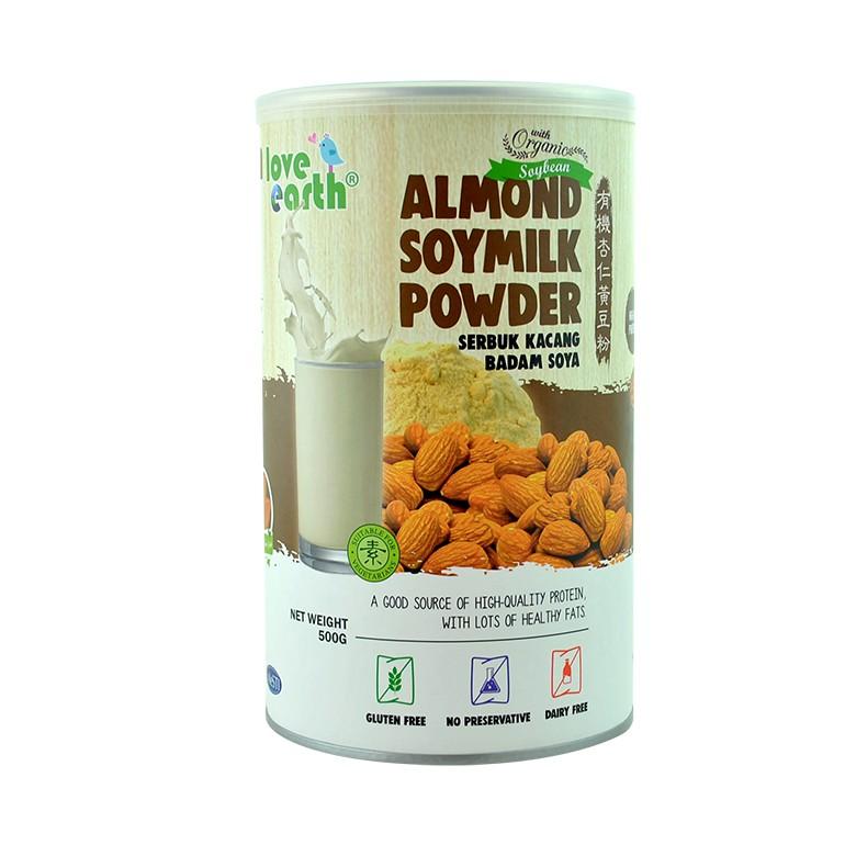 Organic Almond Soymilk Powder 500g